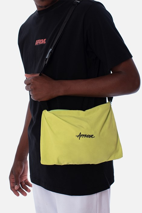 Corta Vento Pocket Approve Cartoon Amarelo Neon
