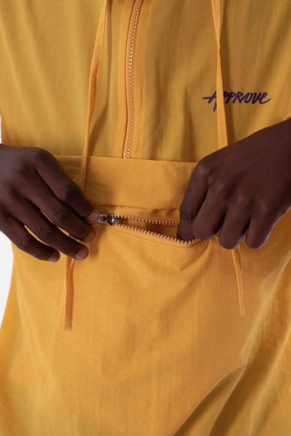 Corta Vento Pocket Approve Pixels&Pills Amarelo