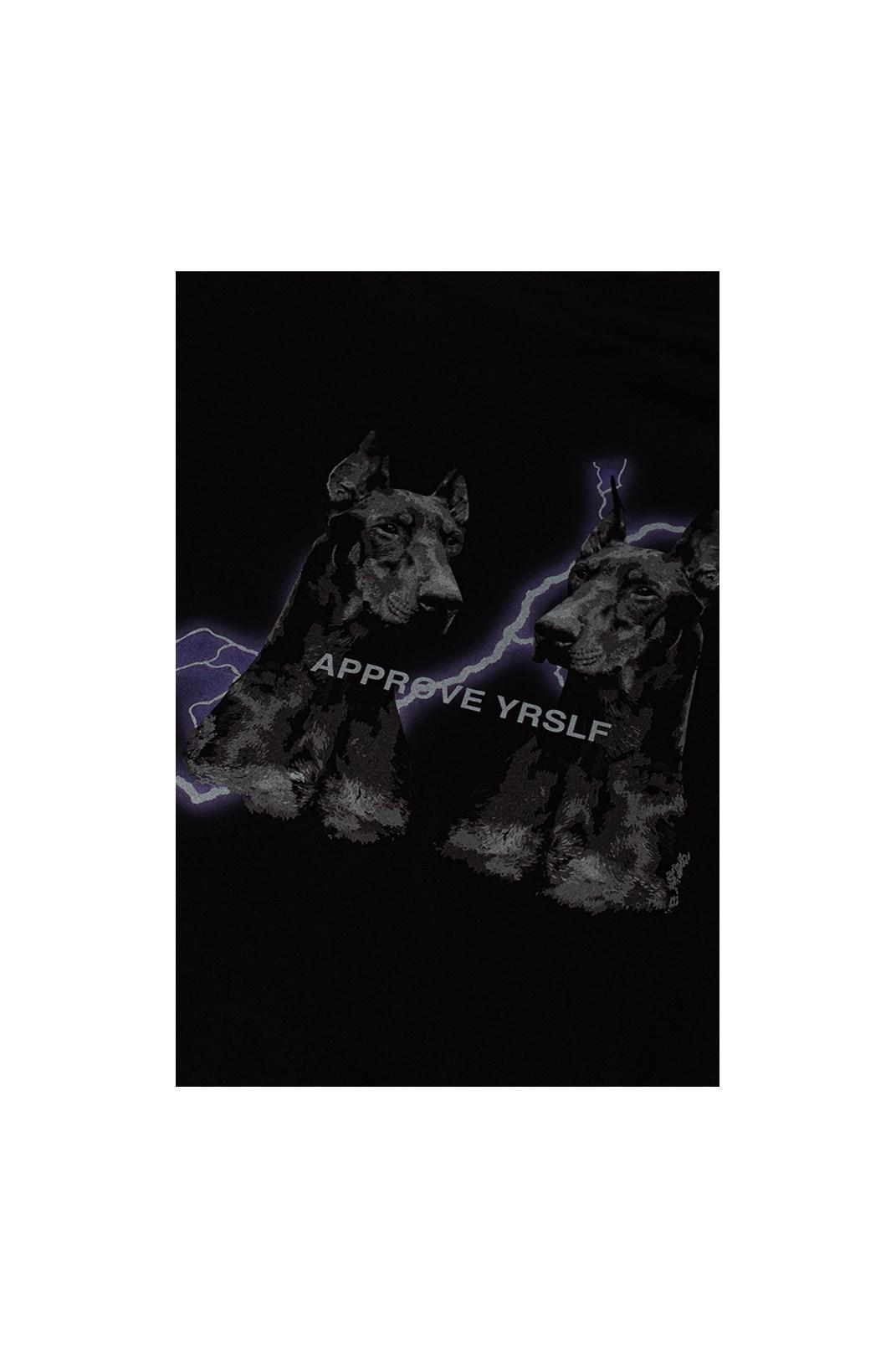 Cropped Bold Approve Animals Dobermann Preto