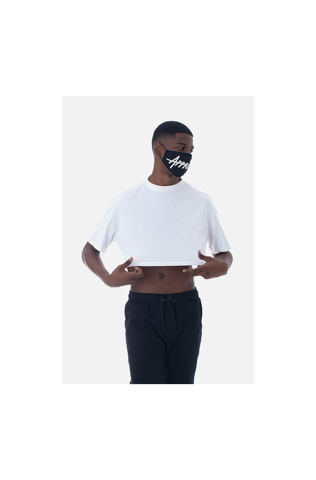 Cropped Bold Approve Basic Off White