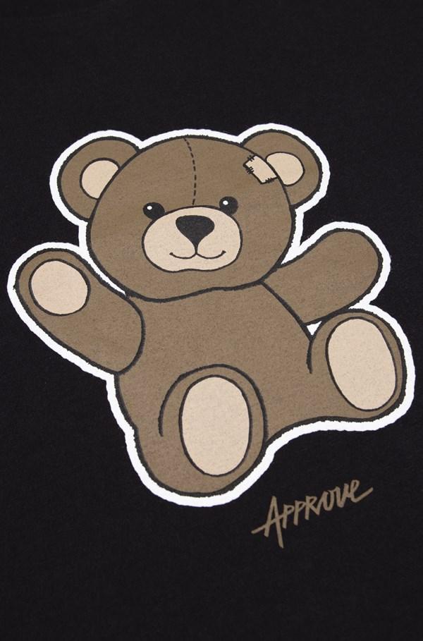 Cropped Bold Approve Bear Preto