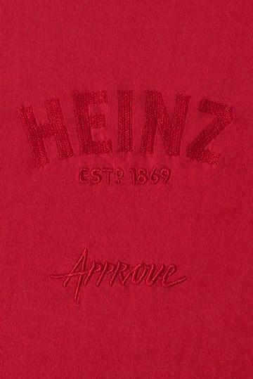 Cropped Bold Approve X Heinz Vermelho