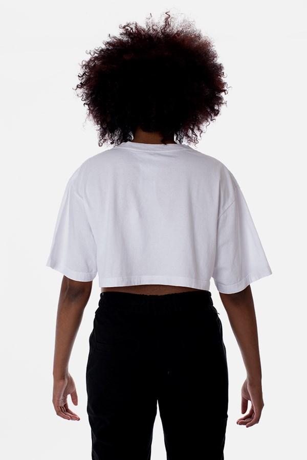 Cropped Regular Approve Classic Branco e Preto V1