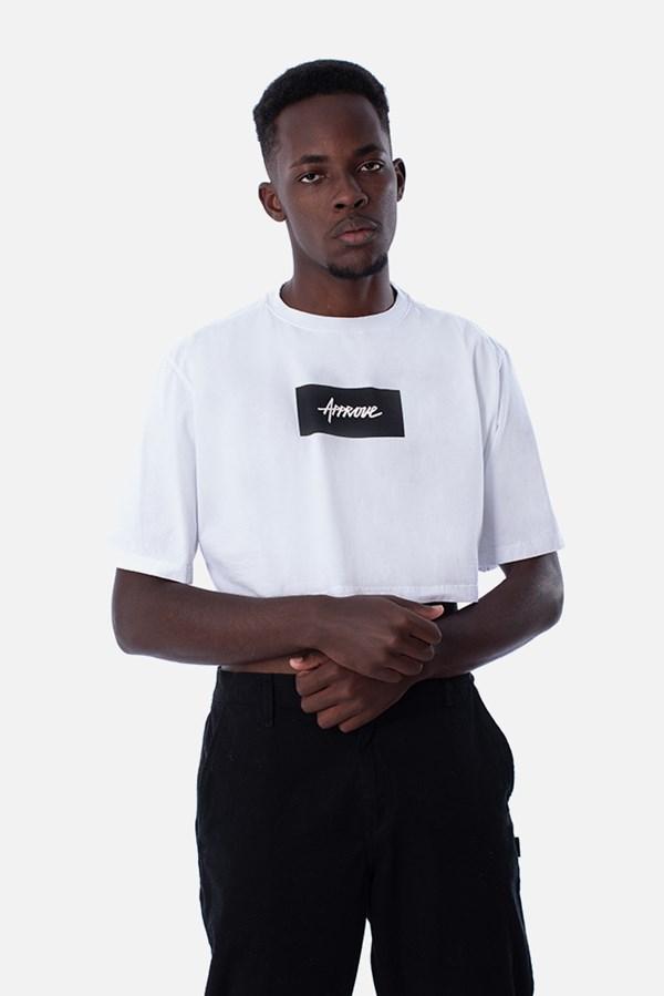 Cropped Regular Approve Classic Branco e Preto V2