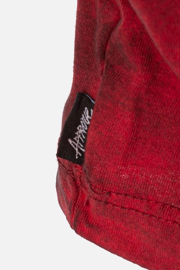Cropped Regular Approve Lp Heart Tie Dye Vermelho