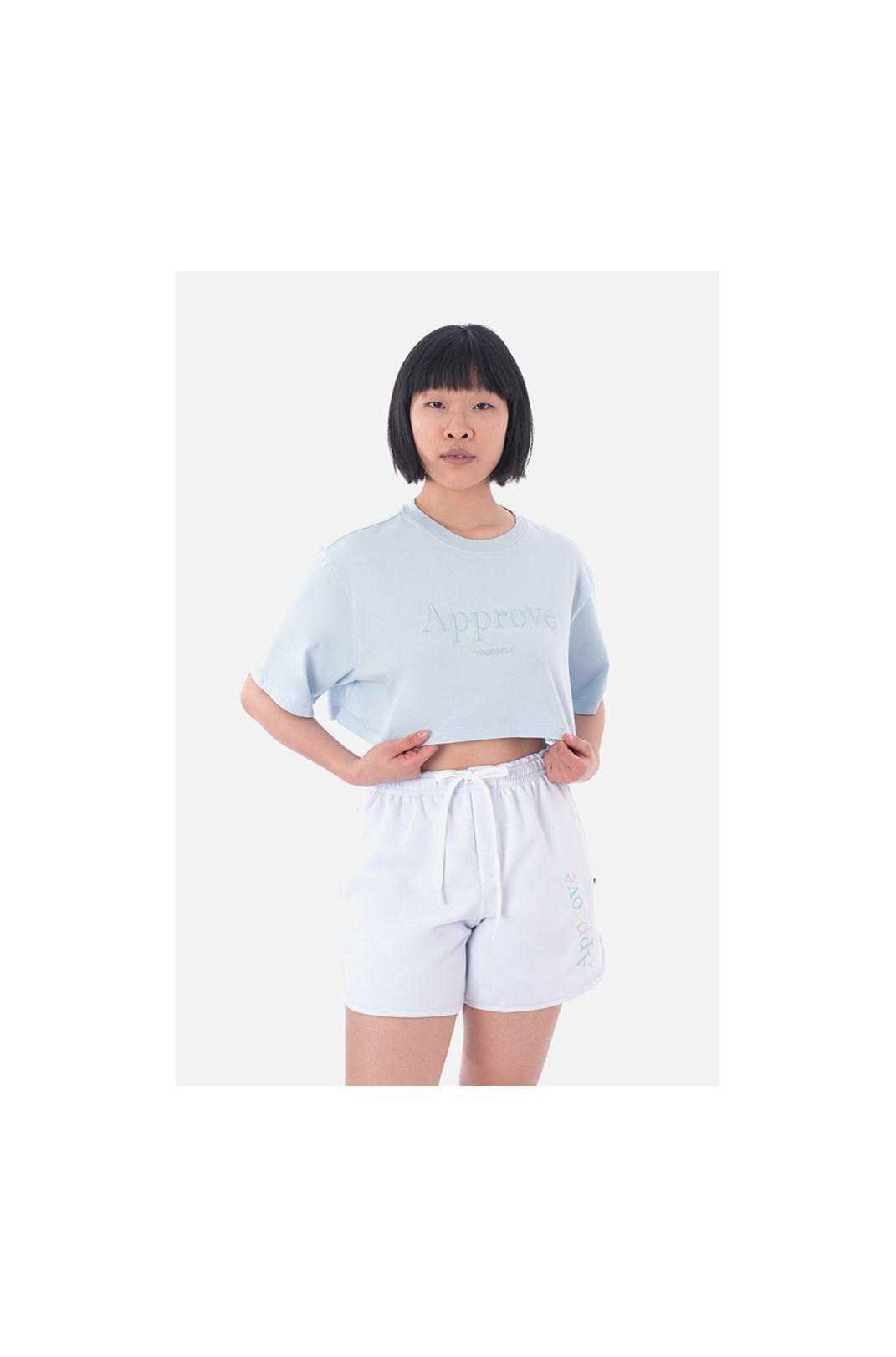 Cropped Regular Approve Mirage Azul