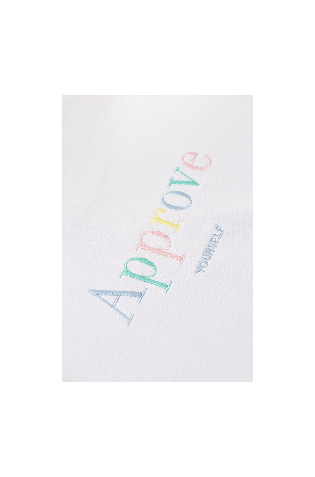 Cropped Regular Approve Mirage Branco