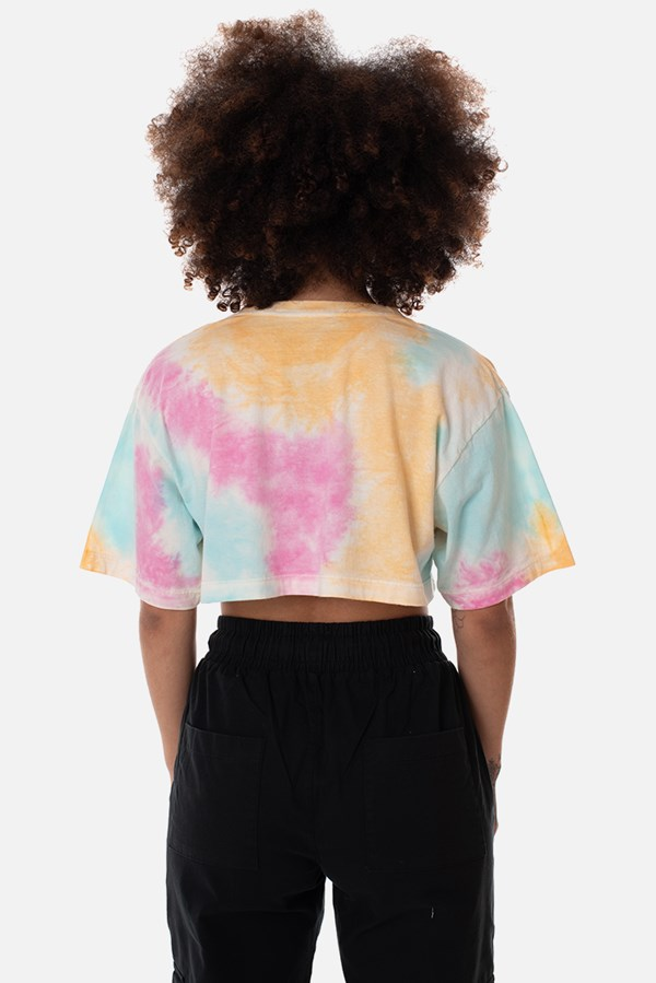 Cropped Regular Approve Tie Dye Colorful