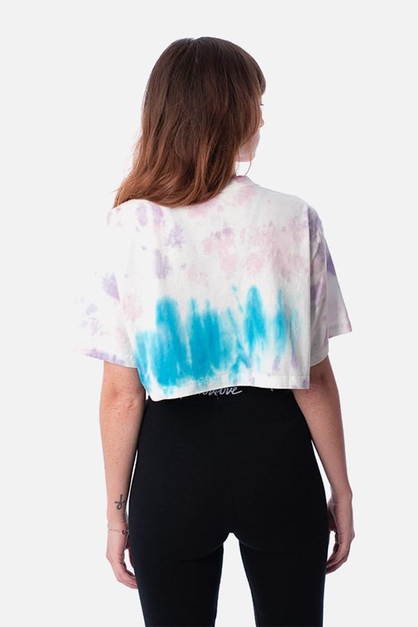 Cropped Regular Approve Tie Dye Skypurple