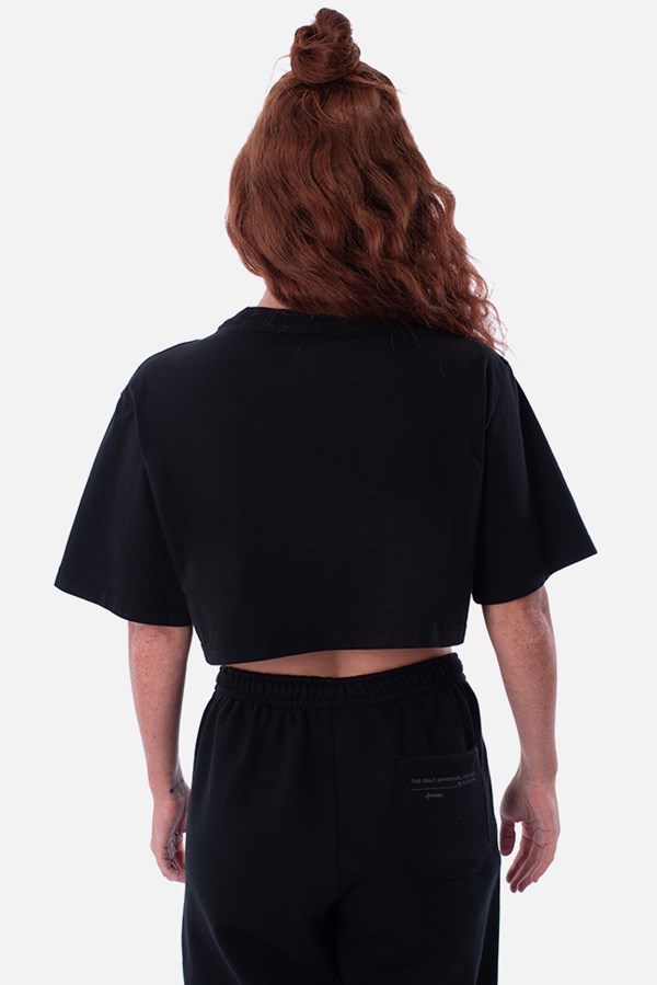 Cropped Regular Approve Yourself Preto