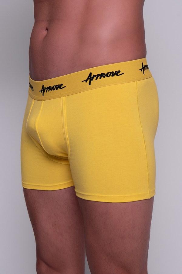 Cueca Boxer Approve Amarela