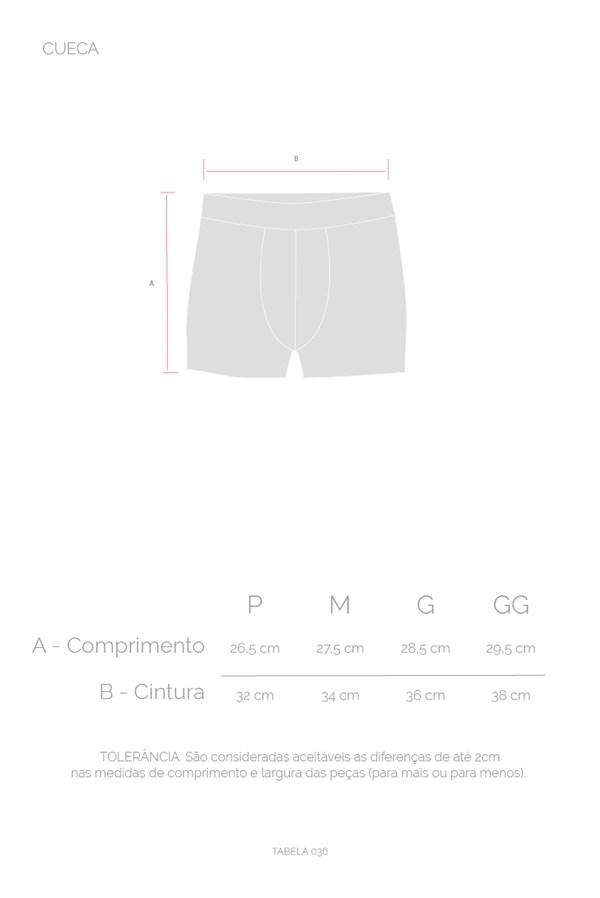 Cueca Boxer Approve Cinza