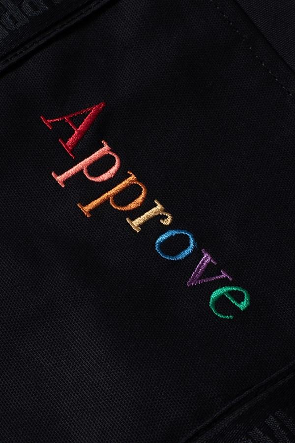Ecobag Approve Rainbow Preta