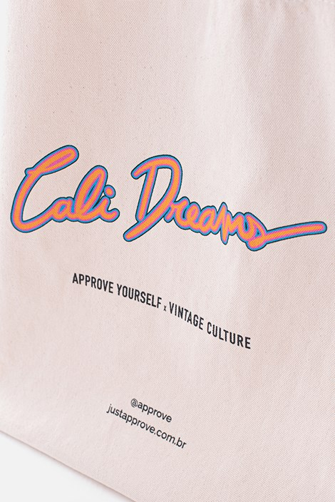 Ecobag Approve X Vintage Cali Dreams Off White