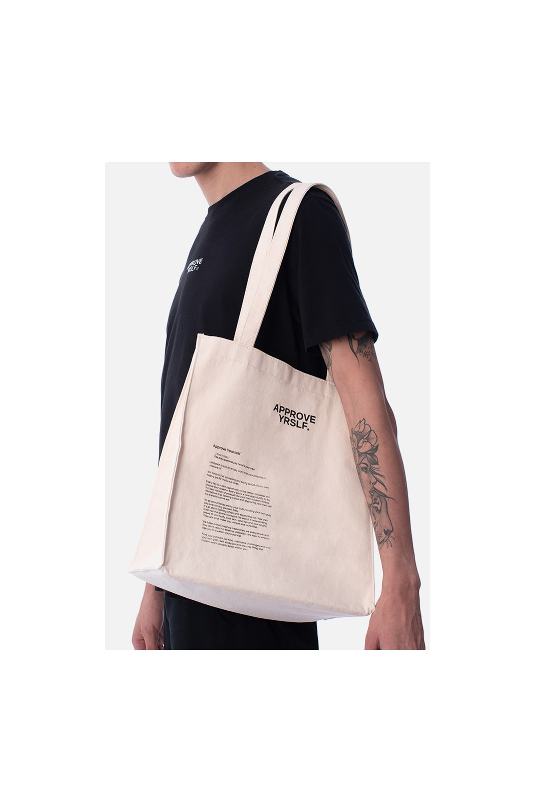 Ecobag Approve Yrslf Off White