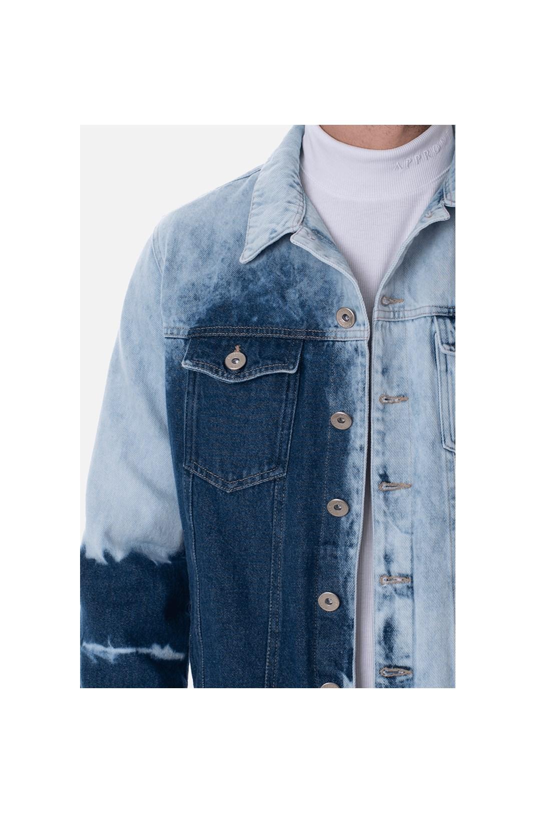 Jaqueta Jeans Tradicional Approve Canvas Bleached