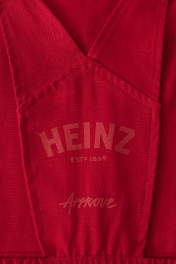 Jardineira Approve X Heinz Vermelho