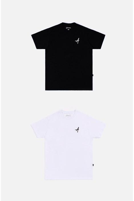 Kit 2 Camisetas Regulares Approve Classic Preta e Branca