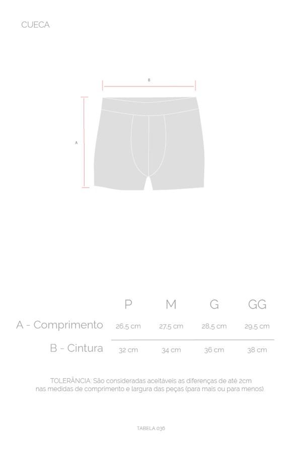 Kit 3 Cuecas Boxer Approve Cinza