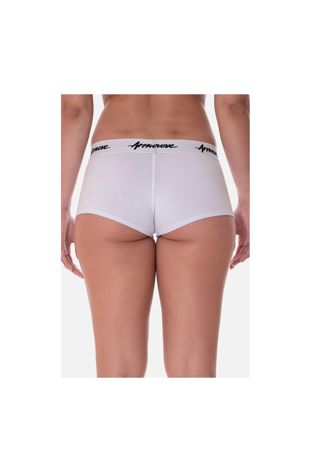 Kit 3 Shorts Underwear Approve Branco