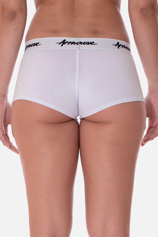 Kit 3 Shorts Underwear Approve Preto, Branco e Cinza