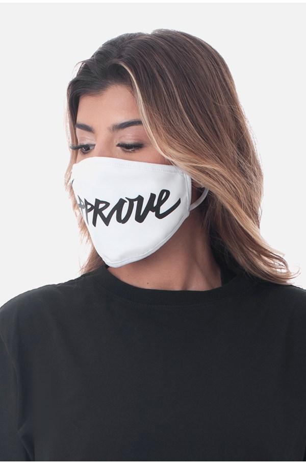 Máscara Approve Branca