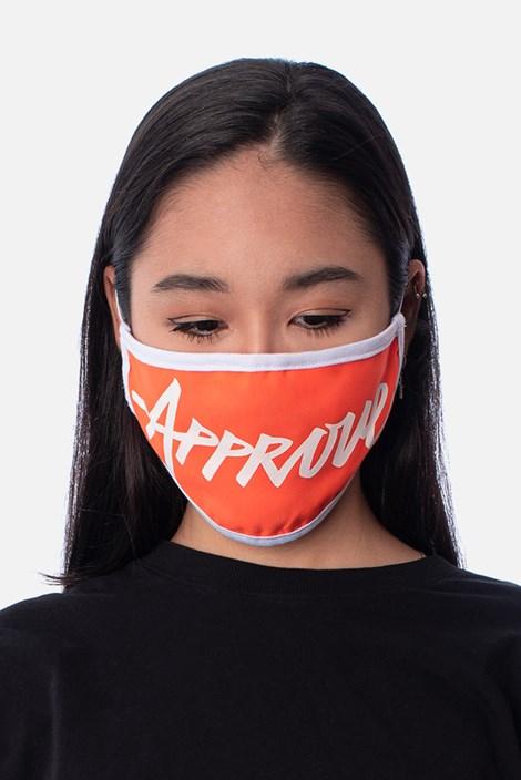 Máscara Approve Laranja