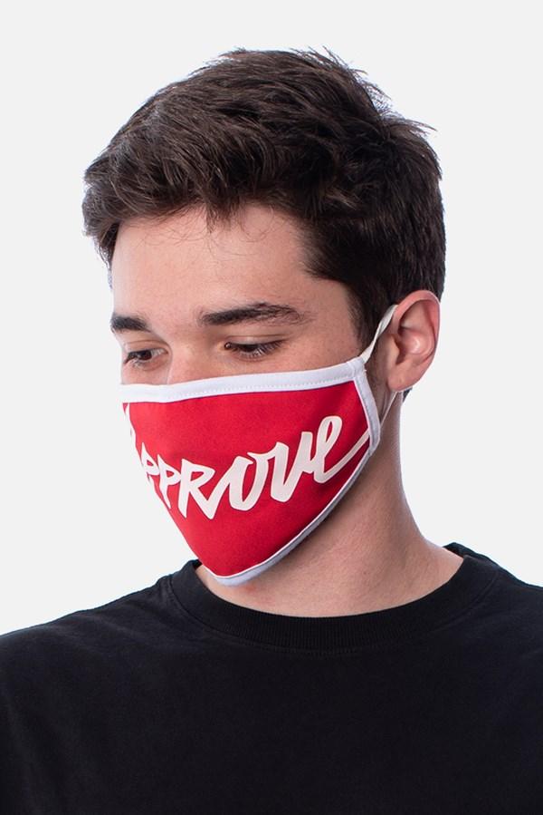 Máscara Approve Vermelha