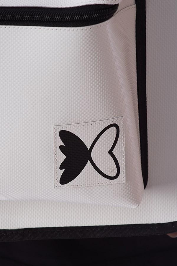 Mochila Green Valley Butterfly Off White