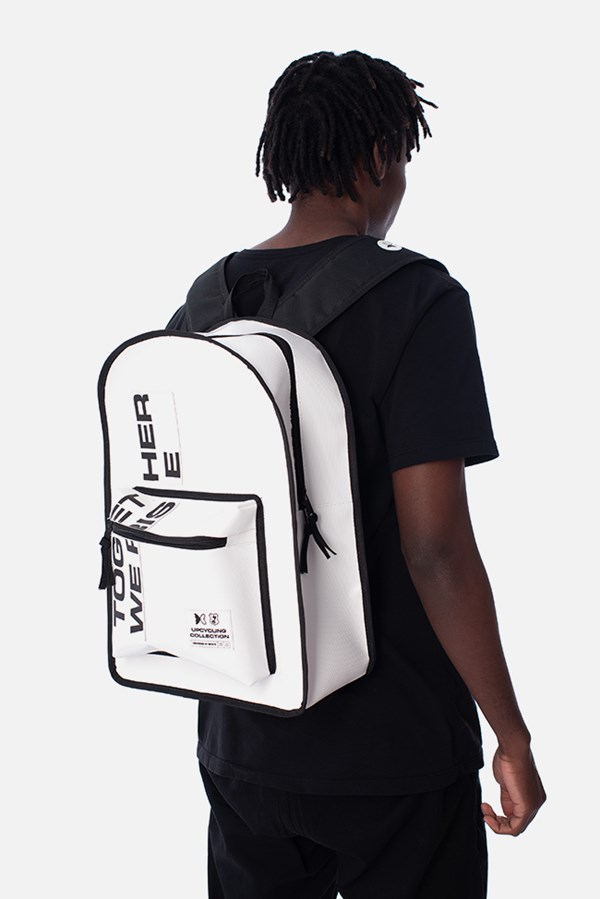 Mochila Green Valley Together We Rise Off White