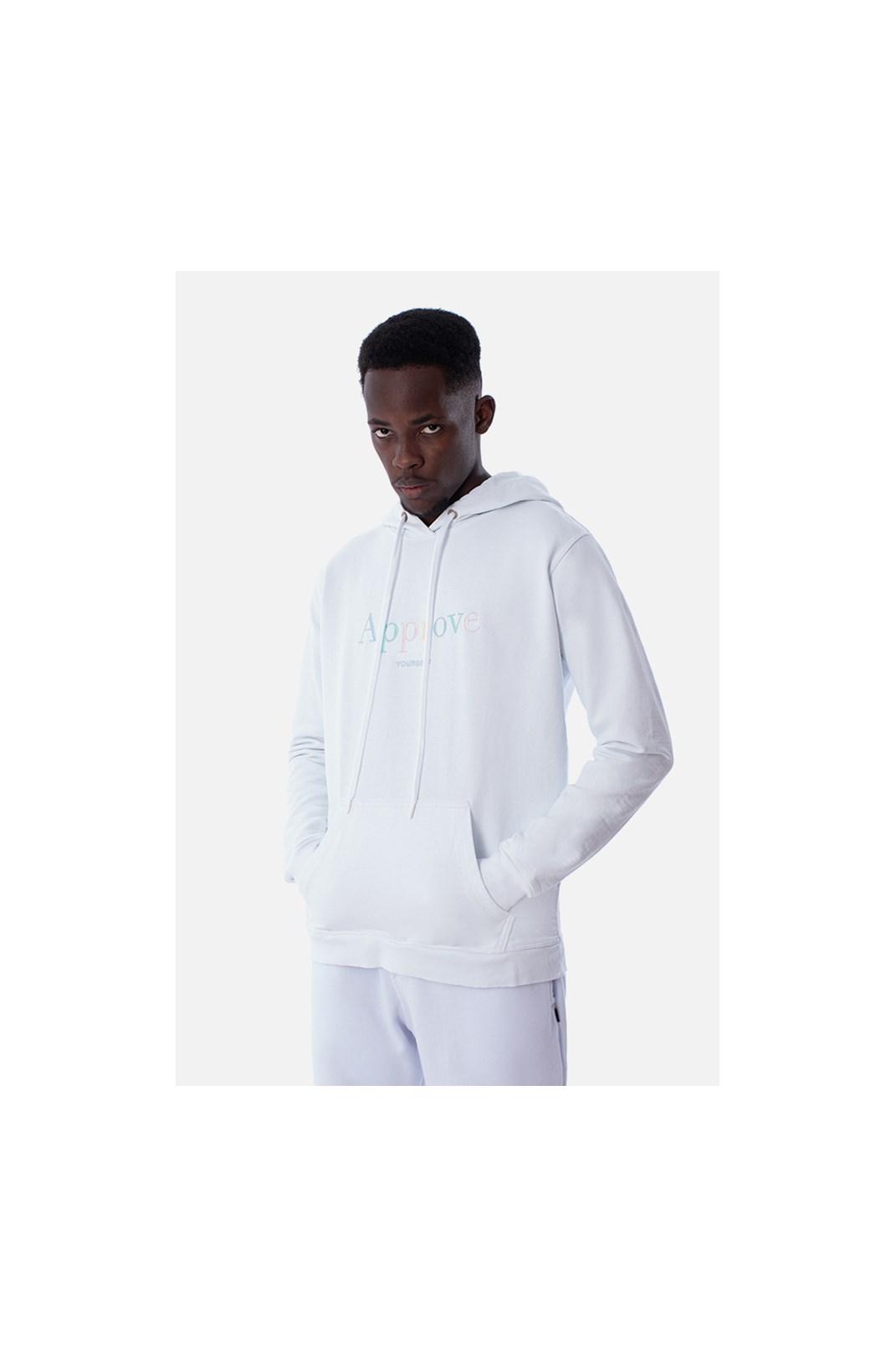 Moletom Canguru Approve Mirage Branco