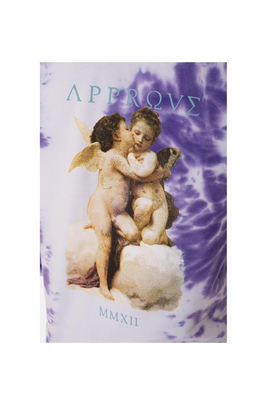 Moletom Canguru Approve Ruínas Baby Angel Roxo