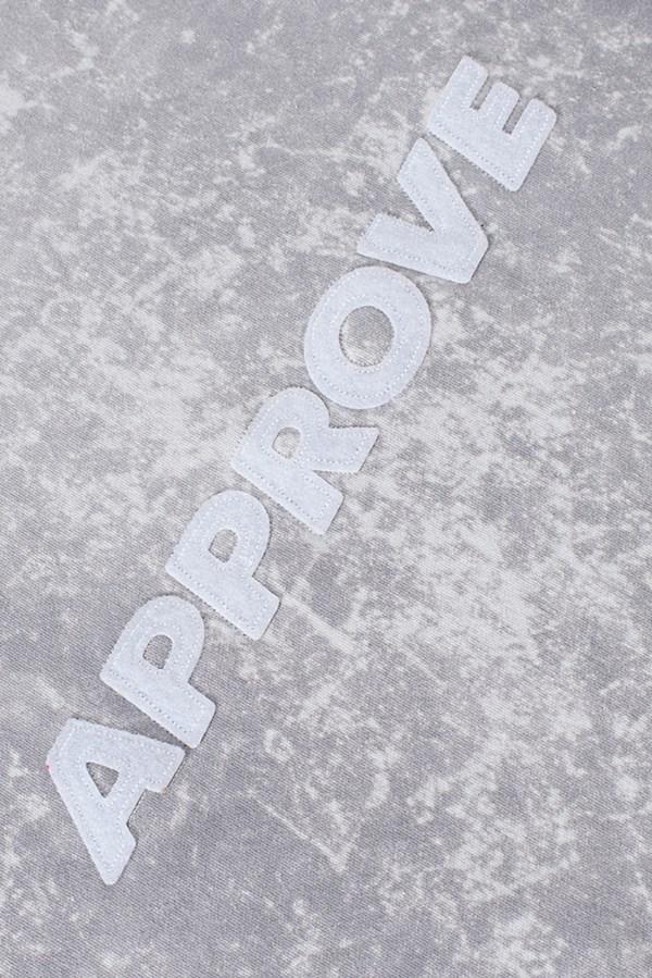 Moletom Canguru Approve Velcro Branco