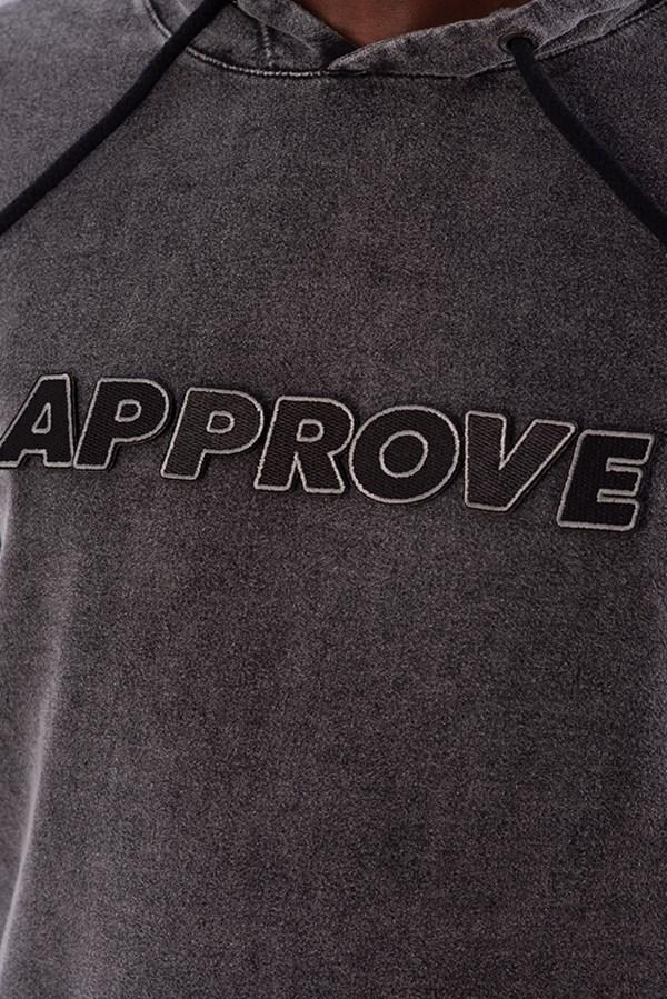 Moletom Canguru Approve Velcro Preto