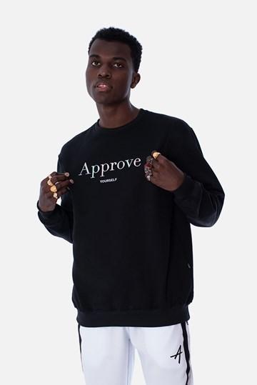Moletom Careca Approve Mirage Preto