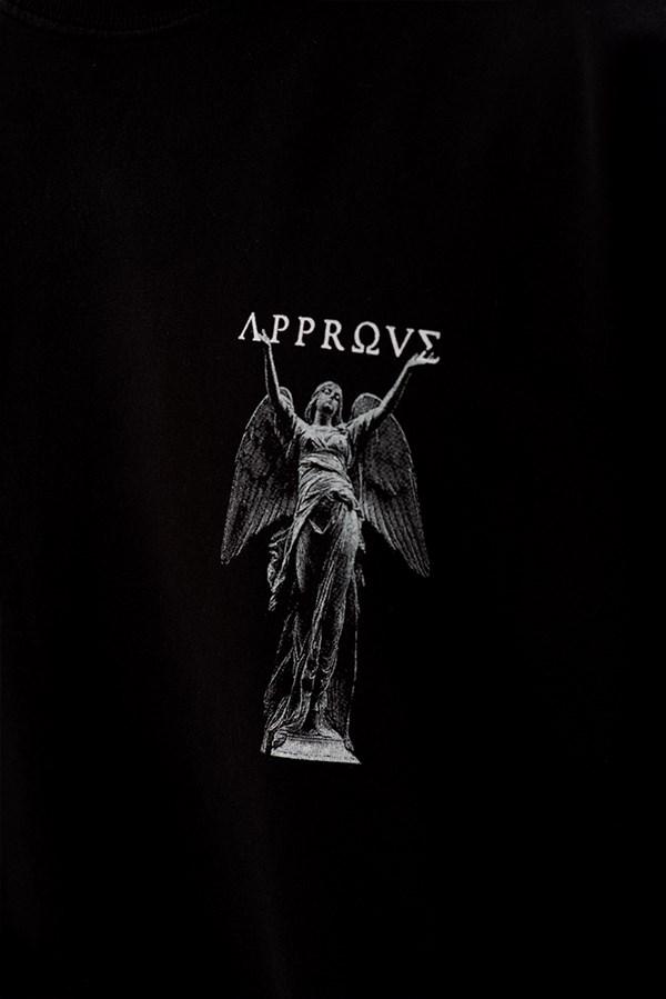 Moletom Careca Approve Ruínas Angel Statue Preto