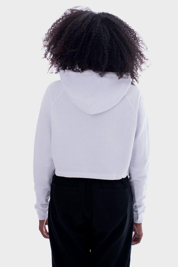 Moletom Cropped Approve Mirage Branco