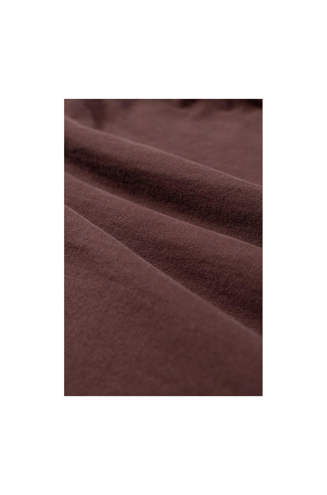Moletom Cropped Approve Monochromatic Marrom