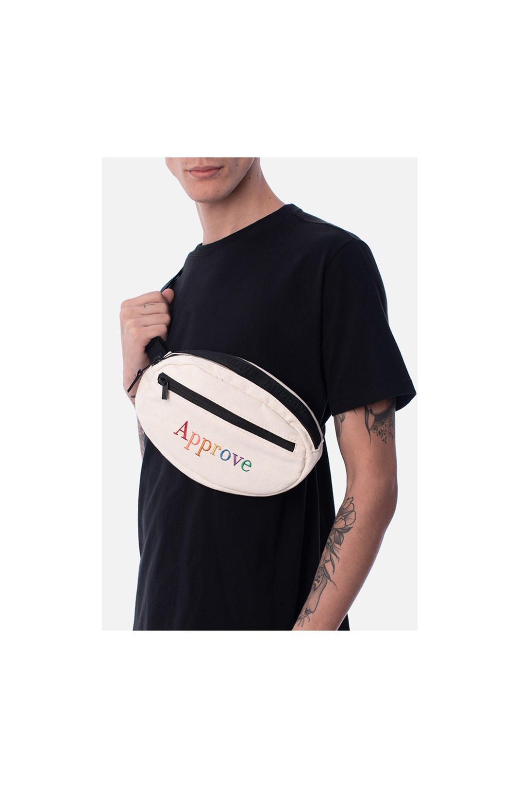 Pochete Approve Rainbow Off White