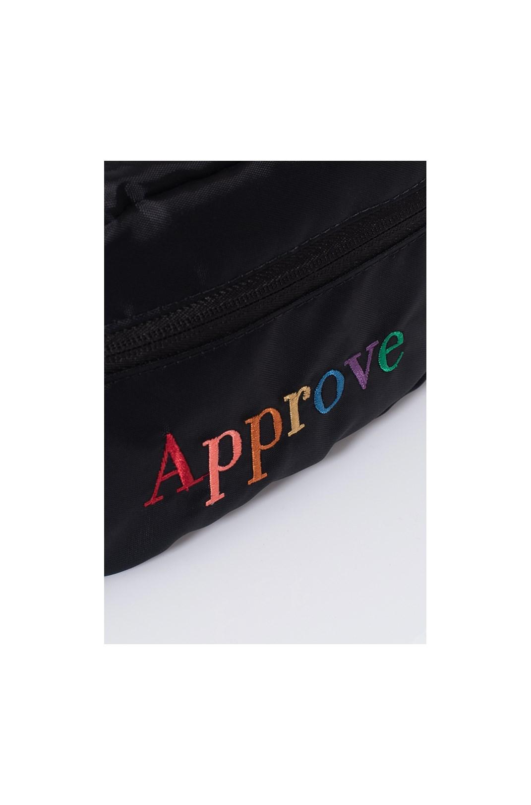 Pochete Approve Rainbow Preta