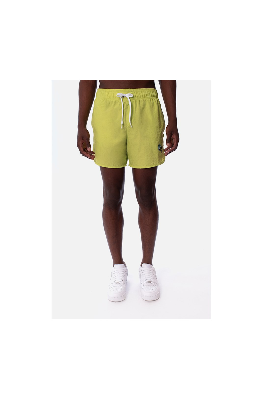 Shorts Approve Cartoon Amarelo Neon