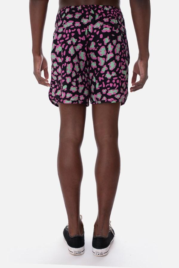 Shorts Approve Lysergic Onça Preto