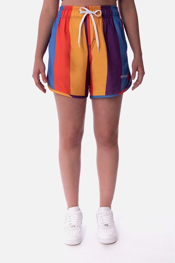 Shorts Approve Pixels&Pills Listrado Color