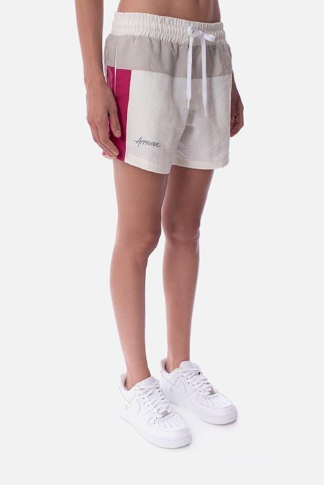 Shorts Approve Retropia Rosa e Off White