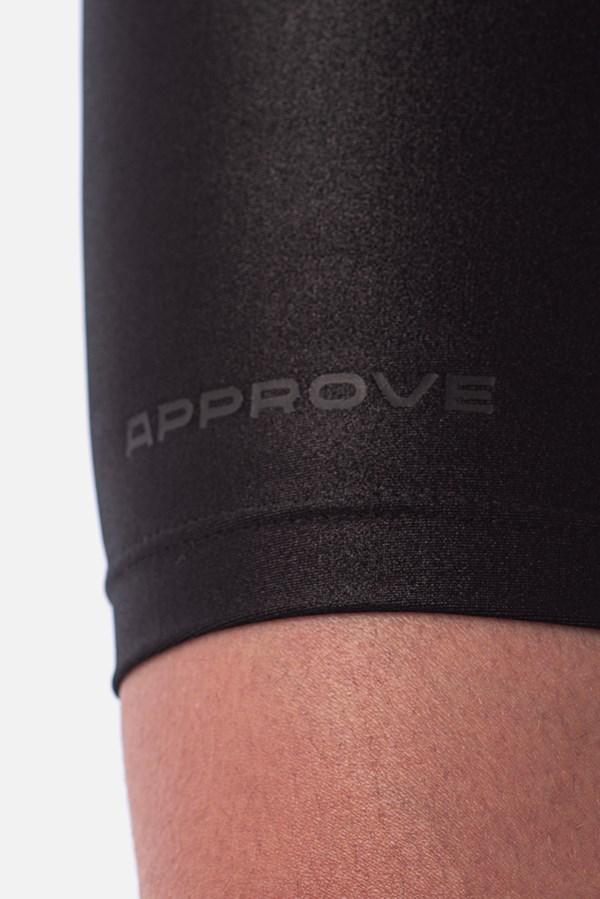 Shorts Biker Approve Robotik Preto