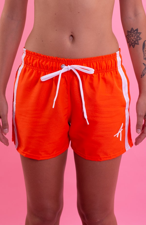 Shorts College Approve Classic Laranja