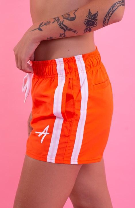 Shorts College Approve Classic Laranja