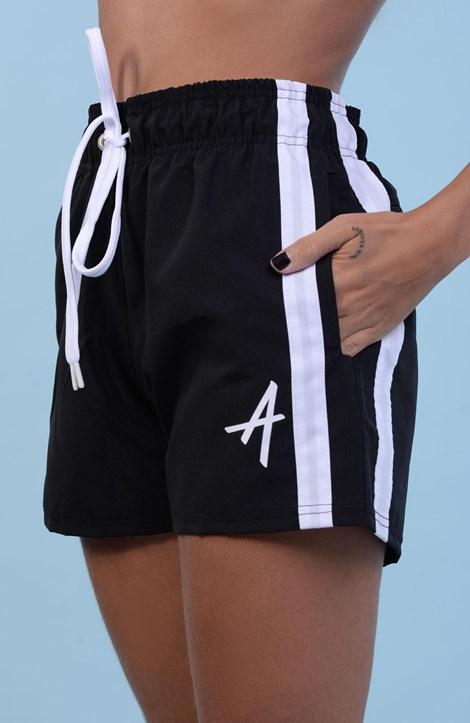 Shorts College Approve Classic Preto