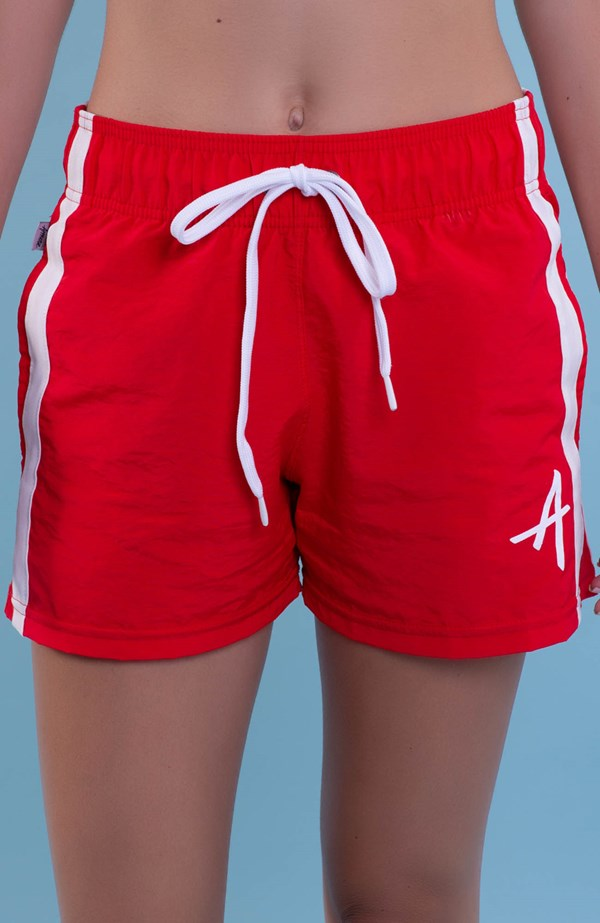 Shorts College Approve Classic Vermelho