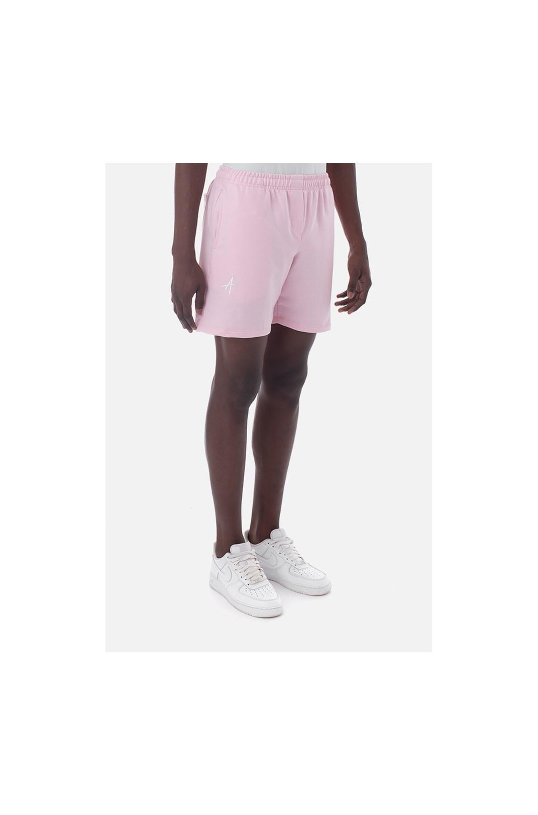 Shorts Moletom Approve Classic Rosa V2